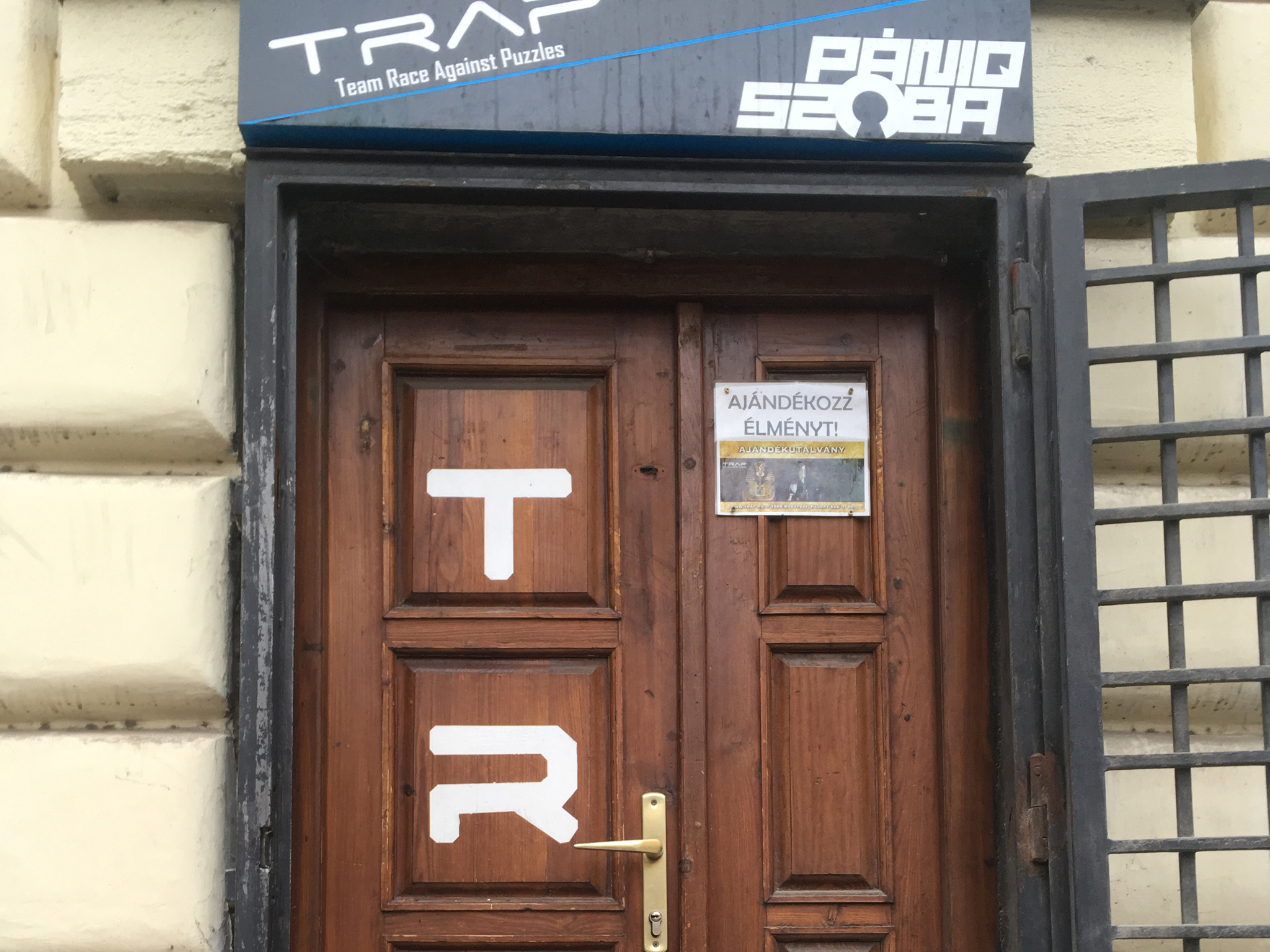 TRAP Escape Rooms in Budapest