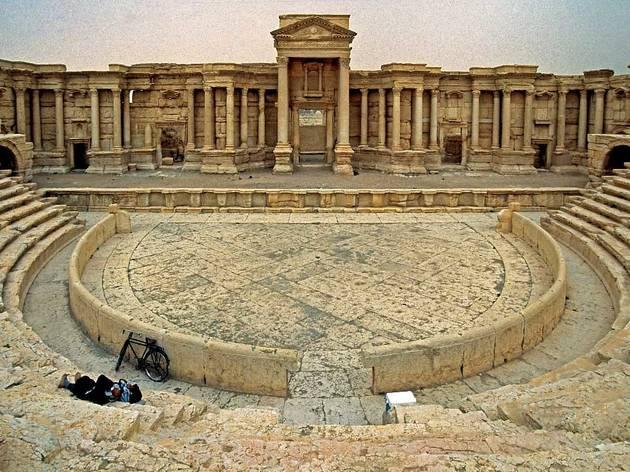 Palmyra / Tadmur, Theater, Scaenae Frons