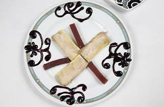 Foie d'ànec 'mi-cuit' casolà fet amb trufa i armanyac de poma