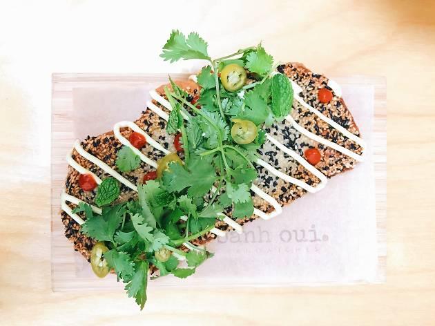Banh Oui Melrose Vietnamese restaurant shrimp toast los angeles
