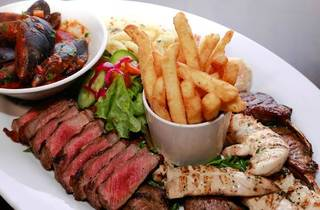 Grill Steak Seafood