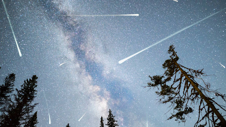 Observación de lluvia de estrellas Gemínidas en Teotihuacan