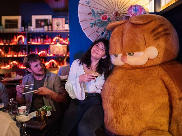 Punters kick back at the Goros Party Brunch