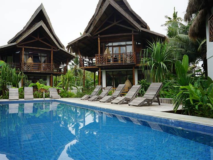 Eco-friendly stay