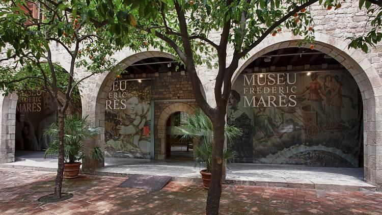 Pati del Museu Marès