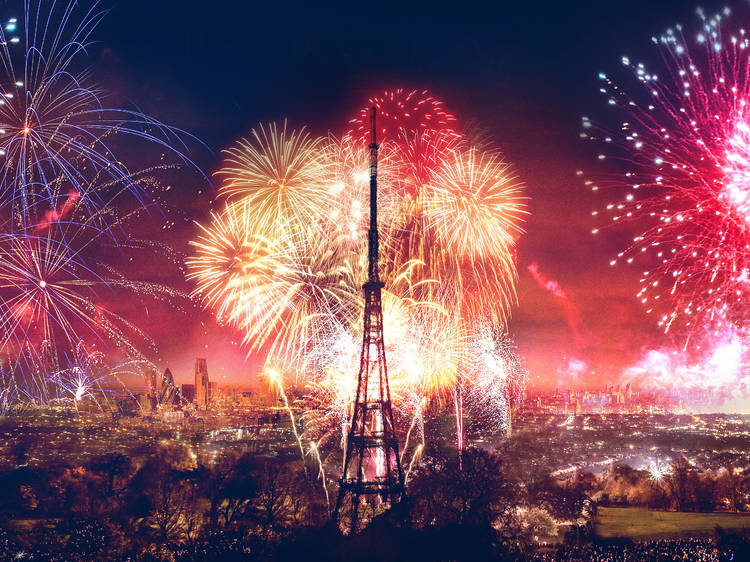 Crystal Palace Park Fireworks