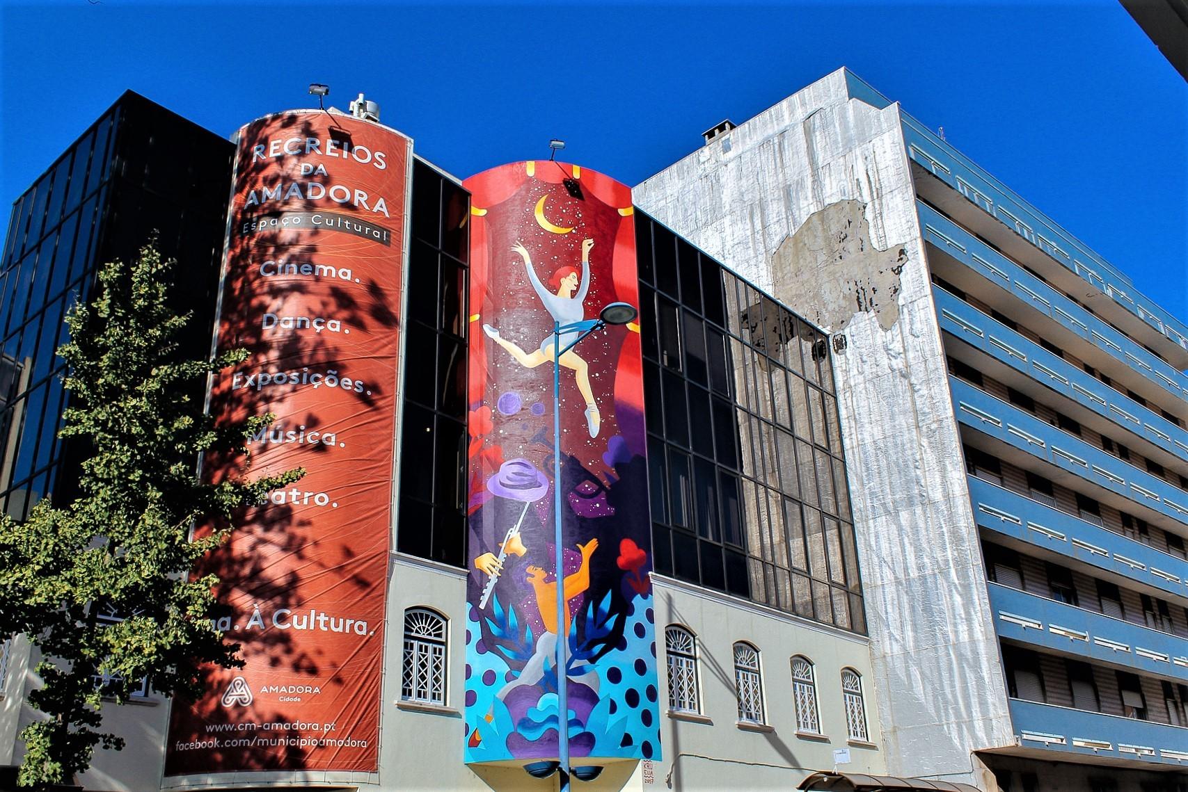 arte urbana na amadora