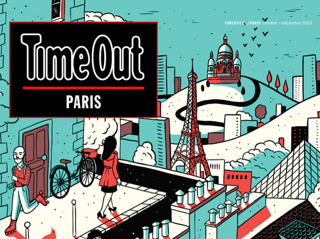 Time Out launches a free pop-up magazine in Paris packed with the best things happening in the city this autumn