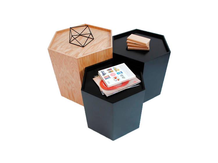 Mesas hexagonales
