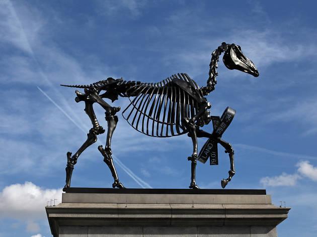 Hans Haacke, Gift Horse, 2014