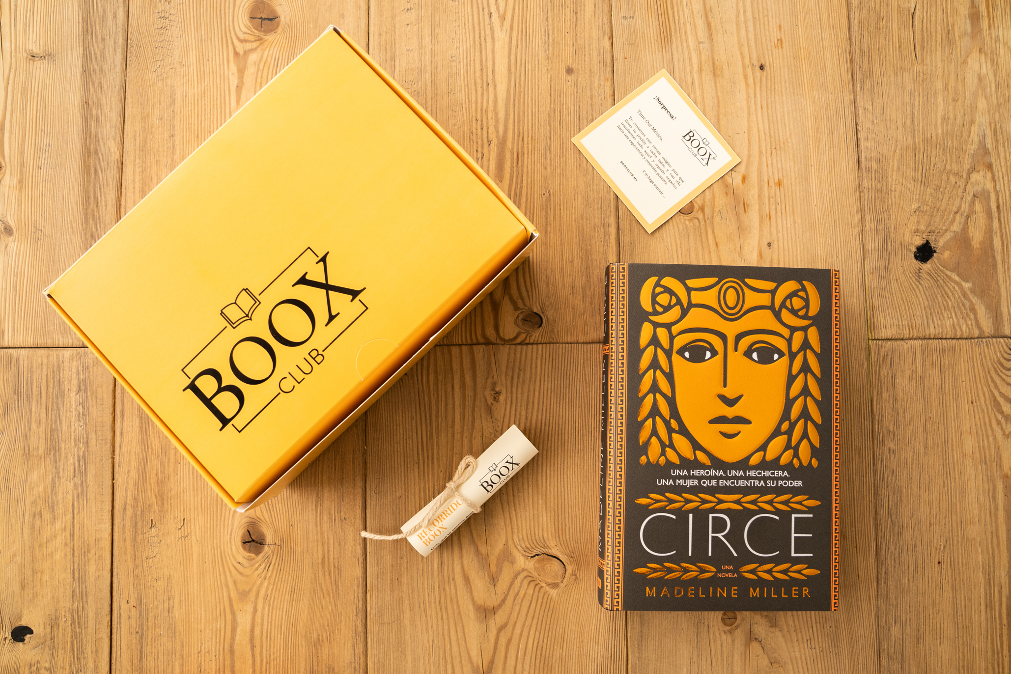 BooxClub, la magia de los libros a domicilio