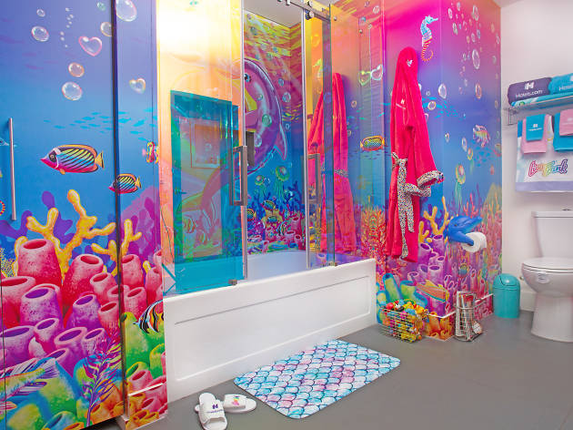 A Lisa Frank hotel in Downtown L.A. is bringing your '90s sticker book dreams to life