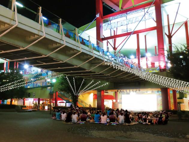 海老名 野外映画祭 in ビナウォーク