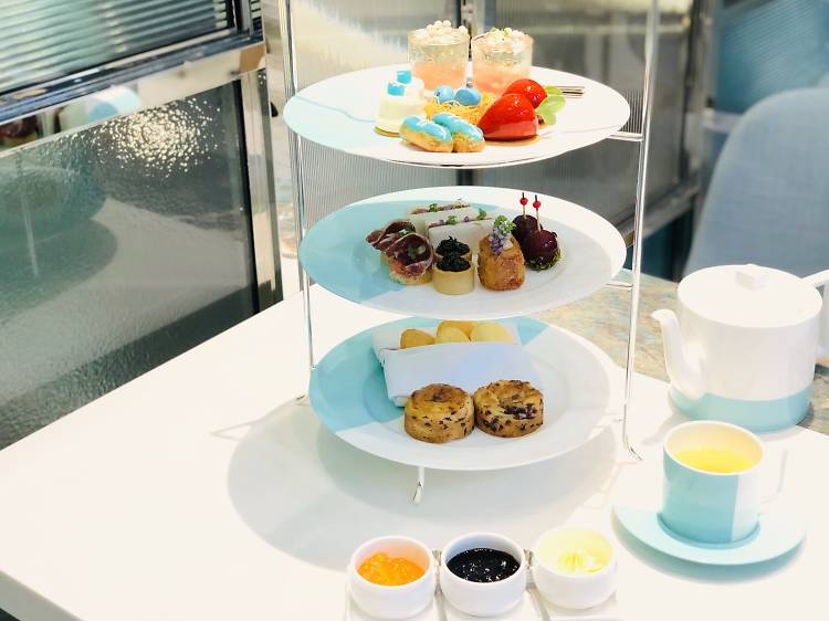 The Tiffany Blue Box Café:淑女最愛