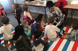 Storytime with Boogie Down Books at Sugar Hill Creamery