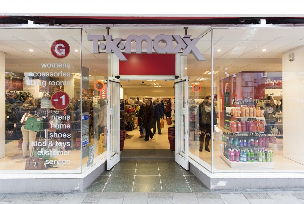 TK Maxx store London