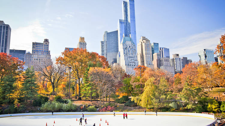 Wollman Rink opens for the season next weekend, so go find your skates