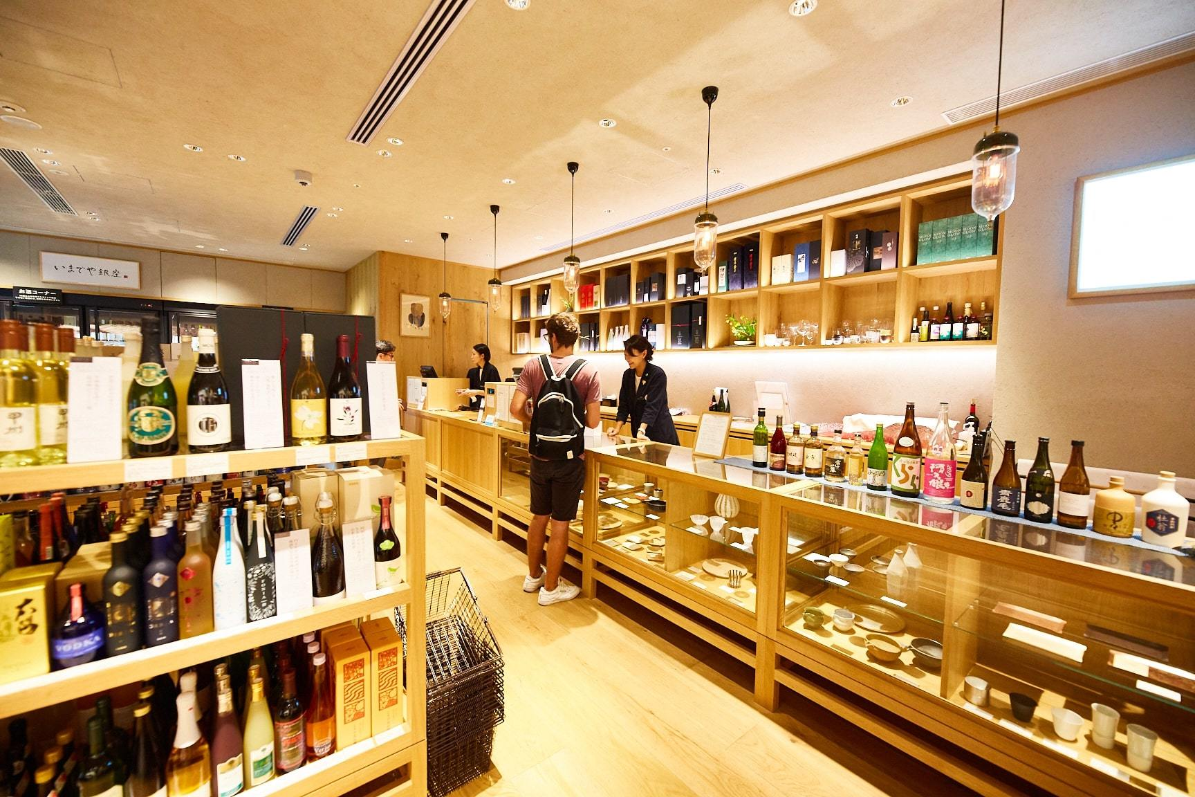 Best bottle shops and liquor stores in Tokyo