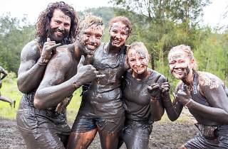 Participants at Tough Mudder