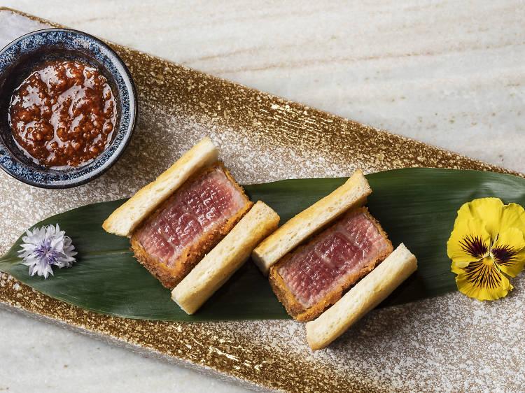 香港最佳和牛三文治