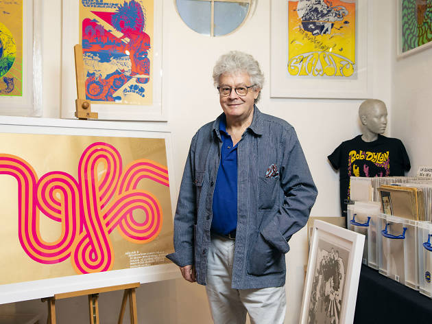 Nigel Waymouth founded '60s boutique Granny Takes A Trip