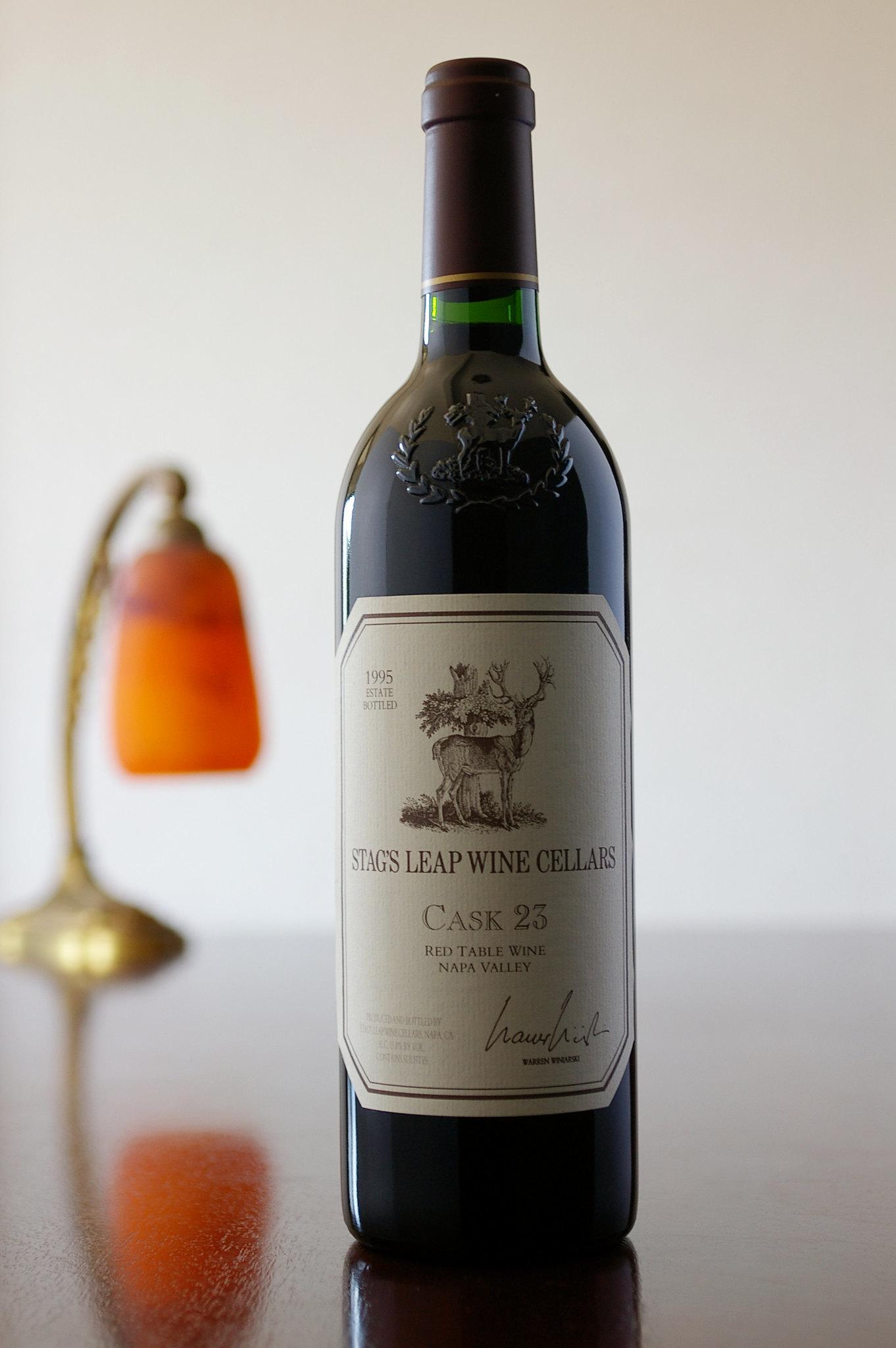 Stag's Leap Wine Cellars Cabernet Sauvignon CASK 23 1995