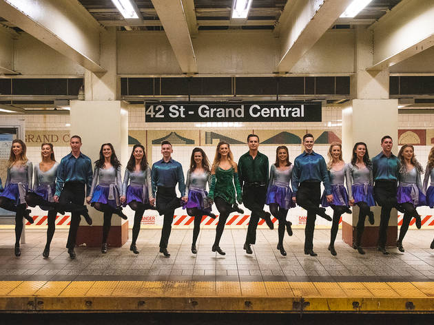 The cast of Riverdance is stepping out in NYC, and we've got exclusive photos