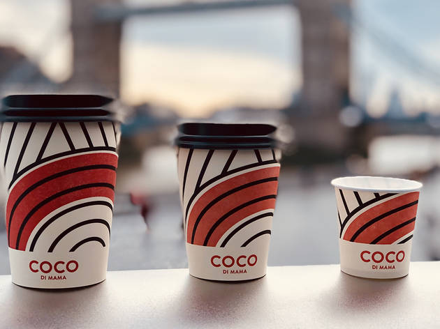 Up to 66% off two coffees at Coco Di Mama London Bridge