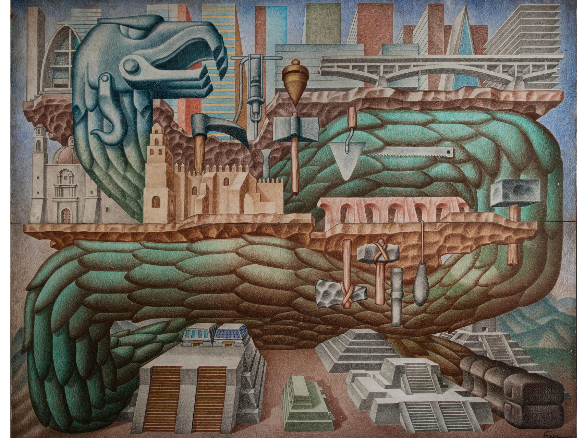 Ingeniería & Arquitectura. 70 años a través del arte en el Museo Dolores Olmedo