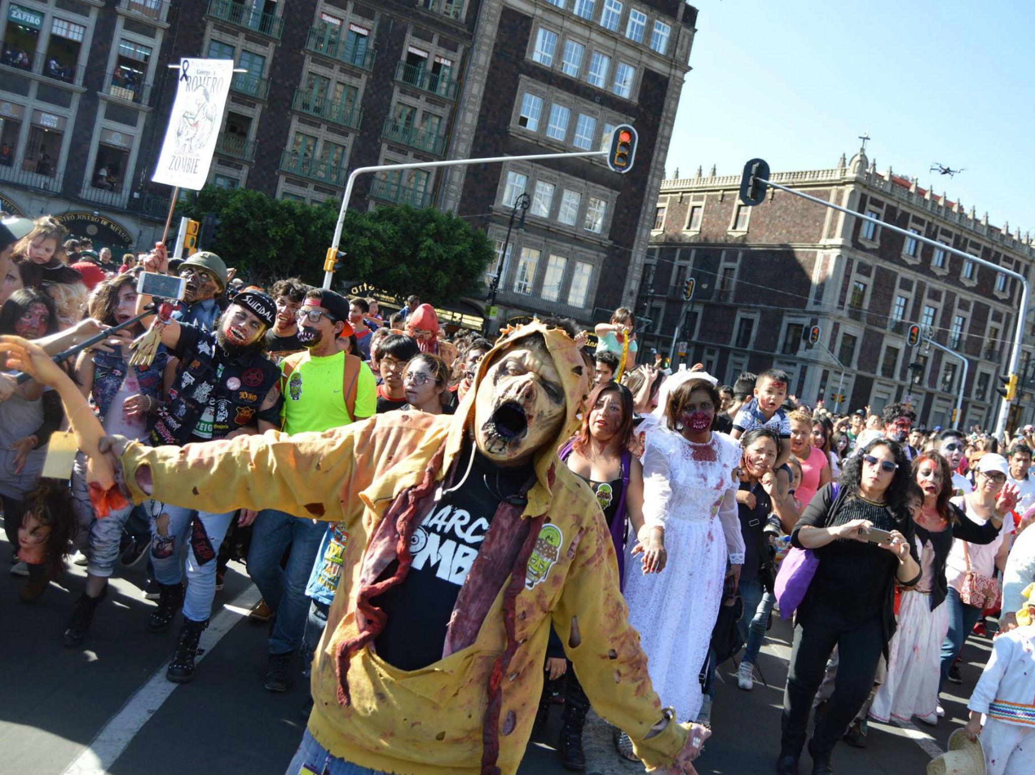 Marcha Zombie México 2019