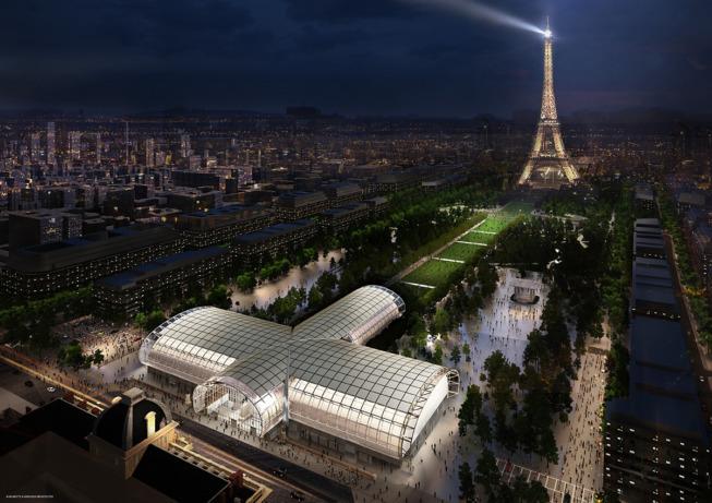 On sait enfin à quoi va ressembler le Grand Palais éphémère!