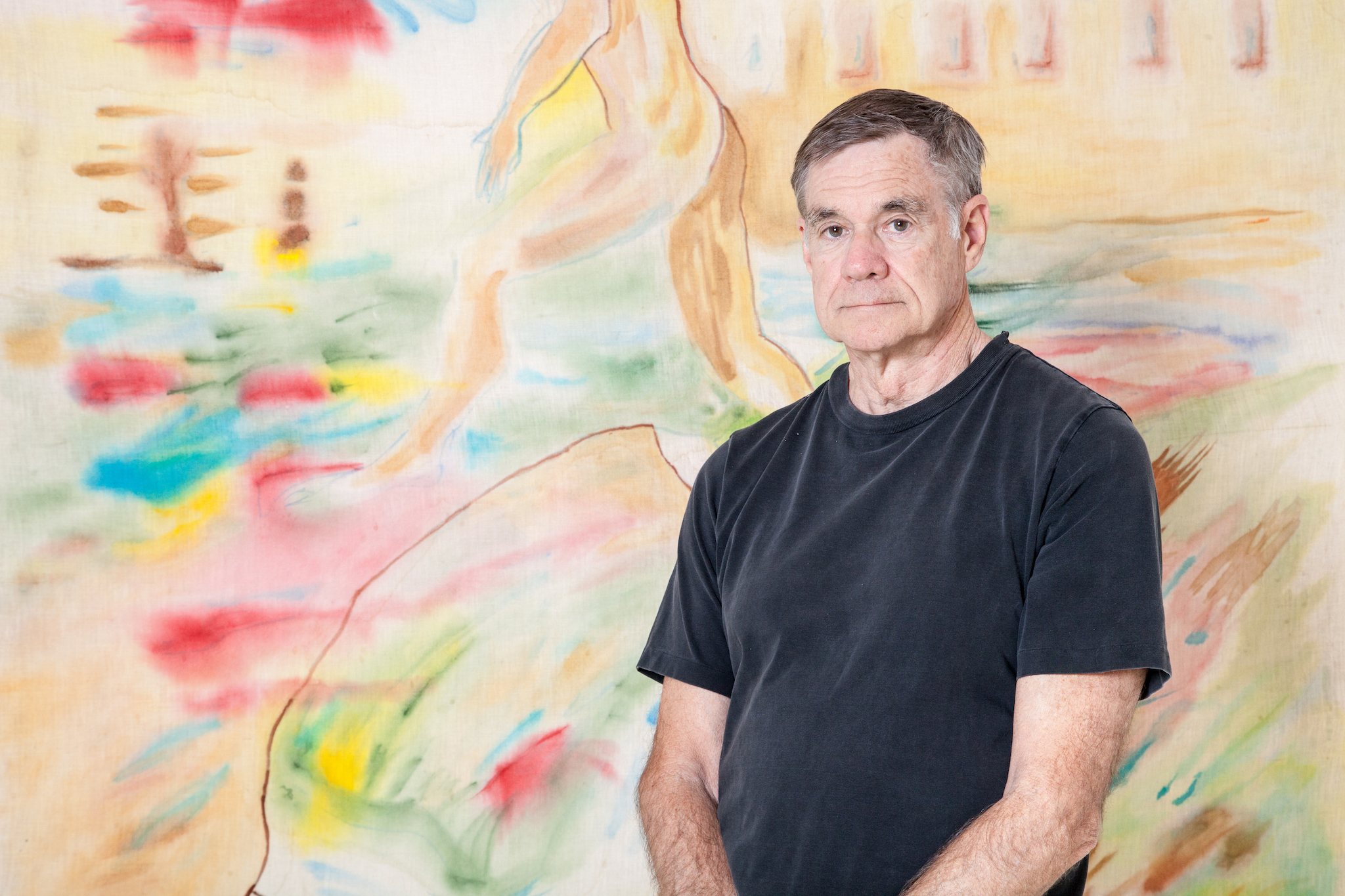 Gus Van Sant has always been a painter at heart