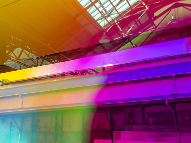 A kaleidoscopic 100-metre art installation is taking over Carriageworks