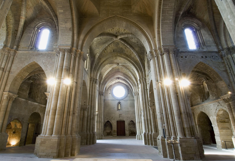 Interior de la Seu Vella de Lleida