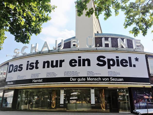 The exterior of Schaubühne am Lehniner Platz theatre in Berlin