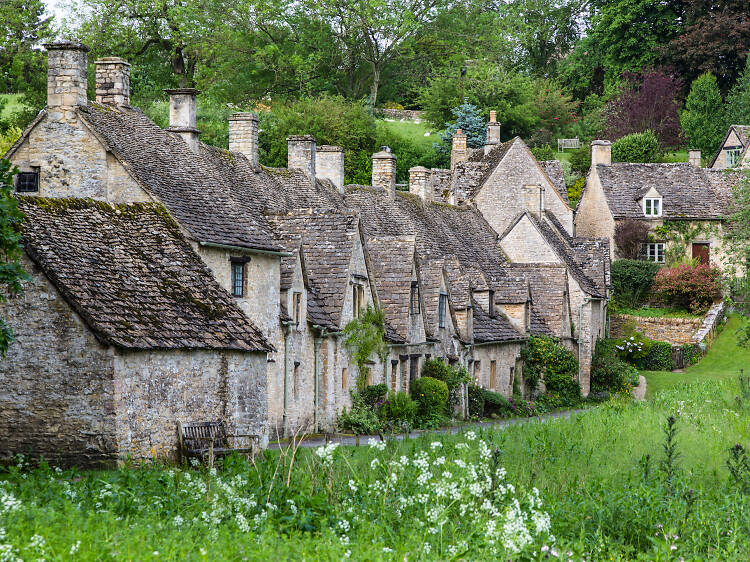 Nine villages near London that time forgot