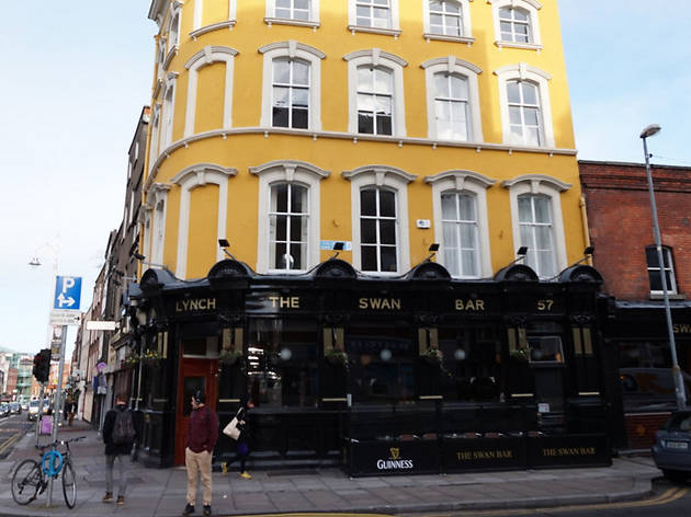 The exterior of The Swan pub in Dublin