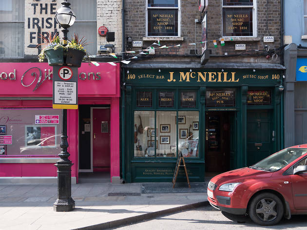 The exterior of McNeill's pub in Dublin