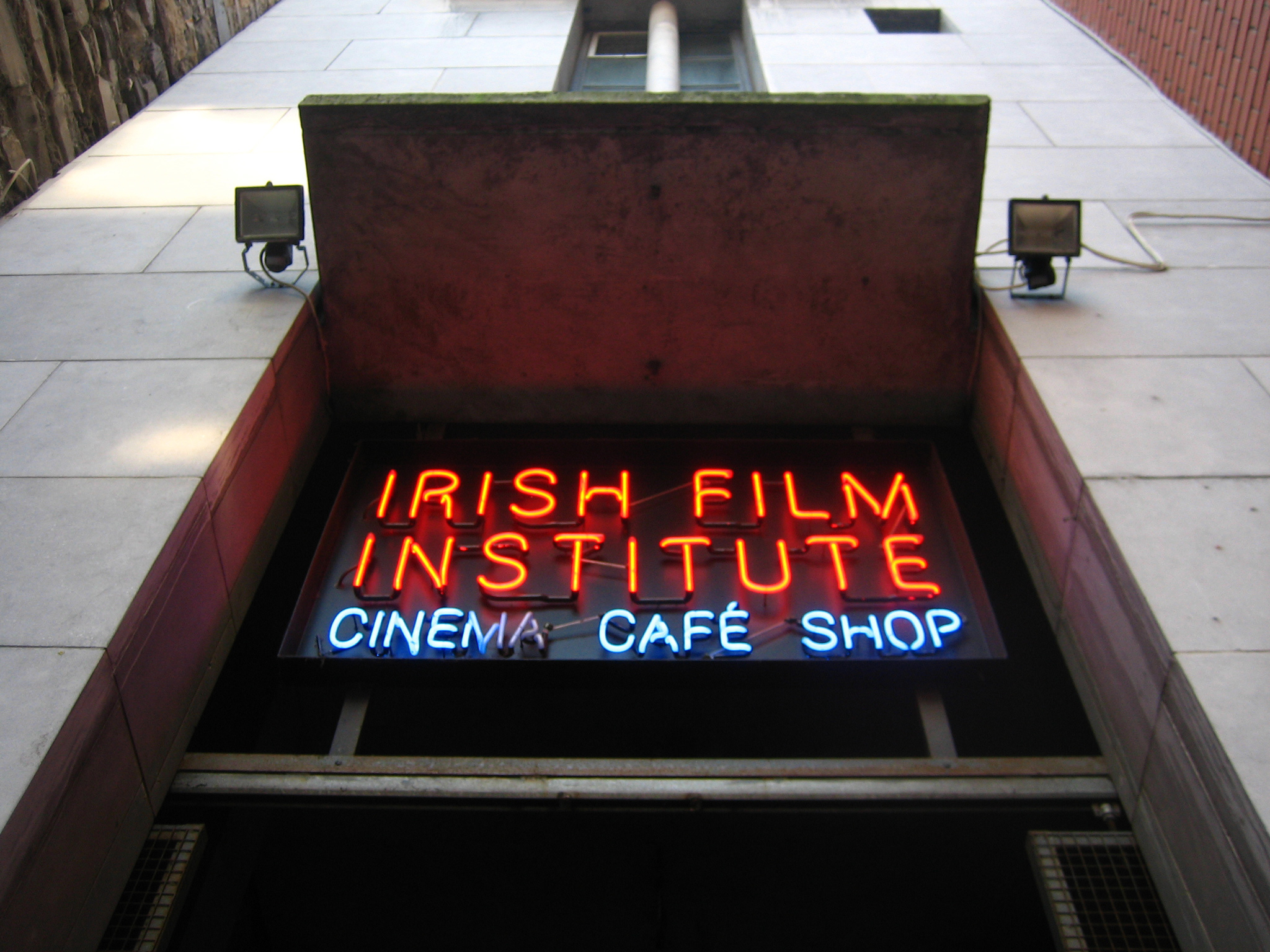 The entrance to the Irish Film Institute in Dublin