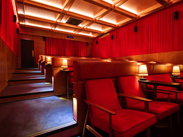 A cosy room at the Stella Cinema at the Devlin in Ranelagh