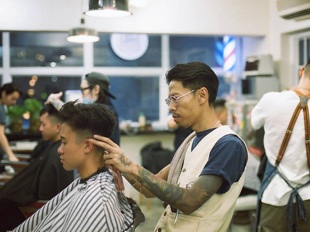 Hair House Barbershop by Adam Chan
