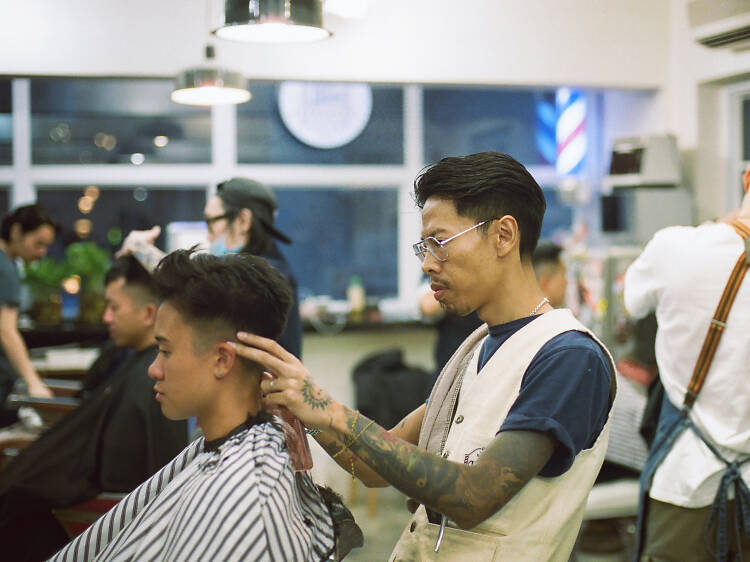 Hair House Barbershop by Adam Chan