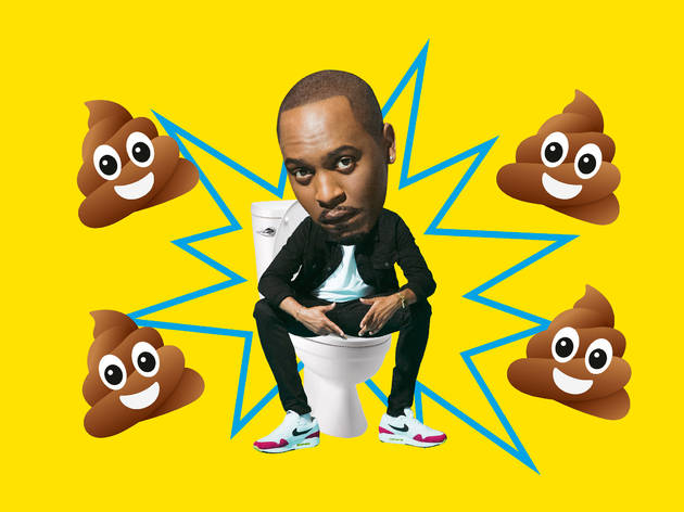 Dane Baptiste's top three places to take a poo in London