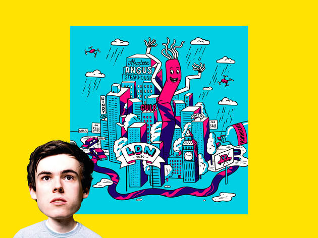 Rhys James imagines London in ten years' time