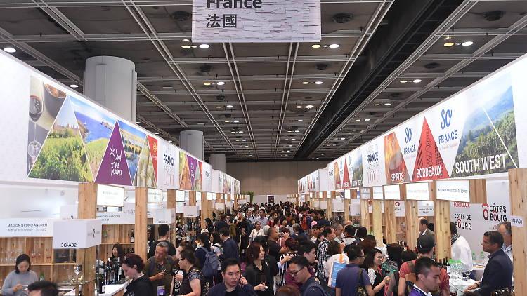 HK wine & spirits fest