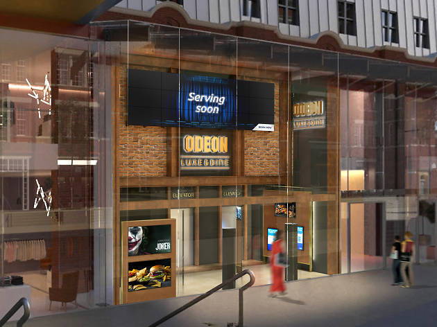 Forget nacho cheese, real dine-in cinema is coming to London