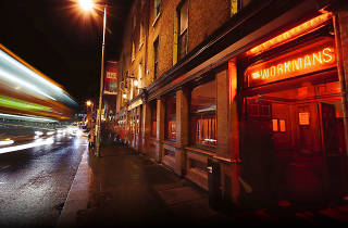 The exterior of Workman's Club in Dublin