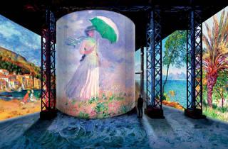 Monet, Renoir et Chagall débarquent à l'Atelier des Lumières!