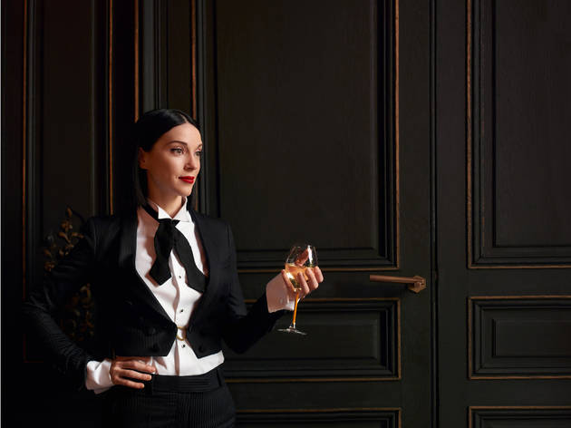 Just announced: St Vincent is hosting a champagne bar in Covent Garden in November