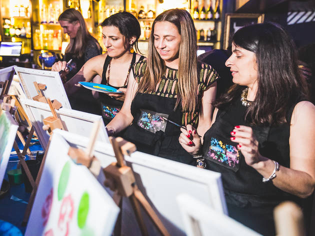 Exclusive tickets to Party n Paint at Boxpark Croydon